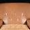 Thumbnail: Pair Of Italian Mid-Century Modern Leather & Velvet Lounge Chair