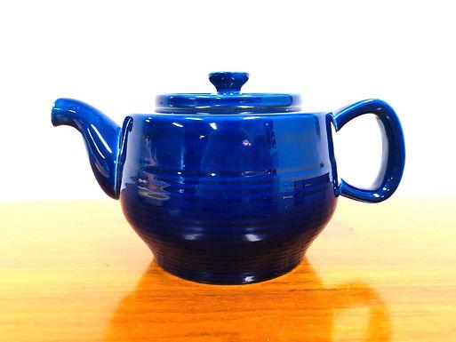 Vintage Cobalt Blue Teapot