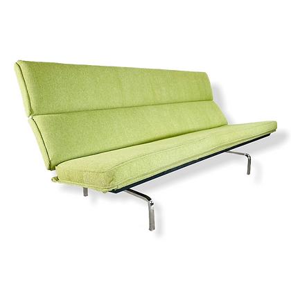 1950's Eames Herman Miller Compact Sofa Restored