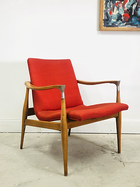 Mid-Century Modern Accent Chair In Style of Kofod-Larsen