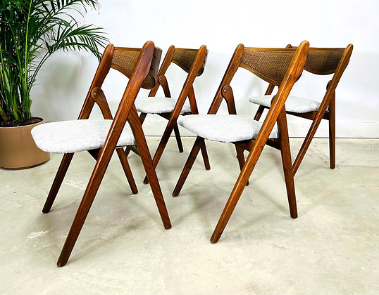 1960's Norquist Coronet Wonderfold Chairs Set of 4