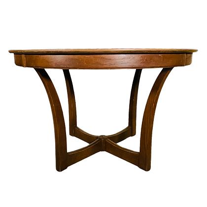 Mid-Century Modern Round Dining Table