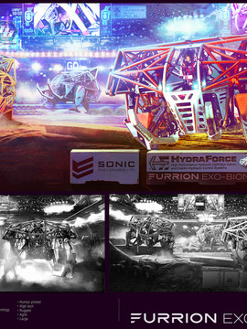 Mech Racing - Prosthesis Concept Art