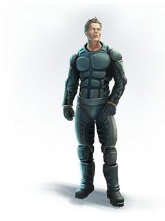 "Character Concept Explopration ""MS Adrenaline"""