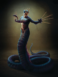 "Character Concept Illustration - "" Poseidon """