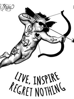 """Live, inspire, regret nothing """"Angel of style"""""""