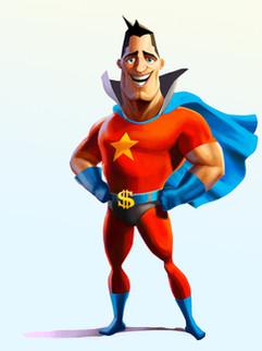 """Character Concept Art - """" Captain Money """""""