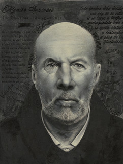 Hiper realistic traditional portrait