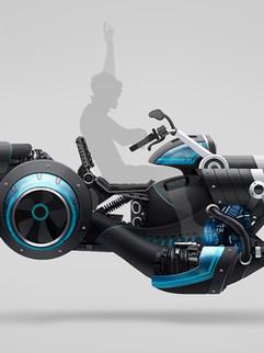 "Vehicle Concept Art - "" L - Huvler """