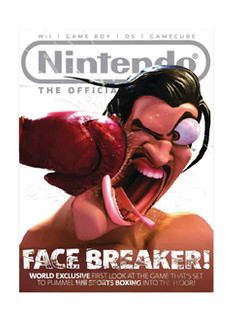 3D Cover Illustration for the official Nintendo Magazine