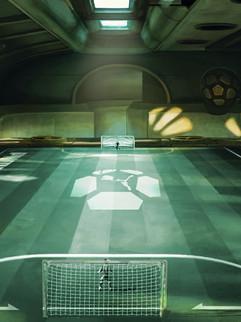 "Environment Concept Art - "" Pure Football """