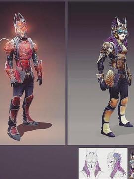 Dragon Riders Concept art