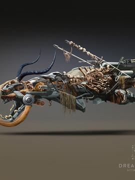 "Vehicle Concept Art - "" Junker """