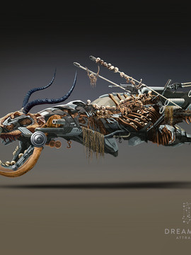"Vehicle Concept Art - "" Junker """