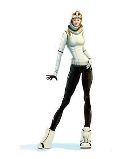 "Character Concept Explopration - "" SSX Deadly Descents """