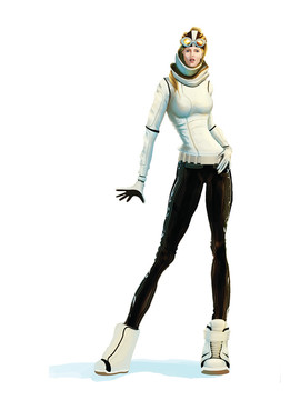 "Character Concept Explopration - "" SSX Deadly Descents """