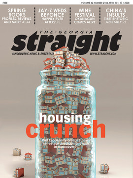 "3D  Cover  Illustration for The Georgia Straight Magazine - "" Housing Crunch """