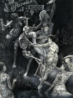"Traditional Illustration - "" Paraiso Perdido """