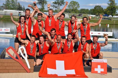 WM 2015 in Kanada - Bronze für das 10er Boot Herren