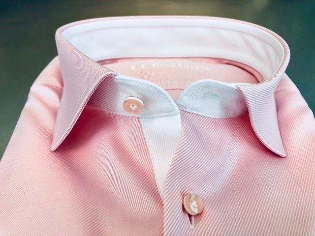 Roze maatshirt - detailfoto
