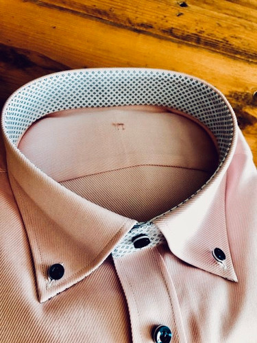 Roze overhemd - button down