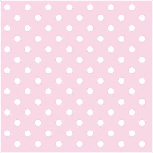 Athelhampton gift shop dorset ambiente paper napkins pastel dots rose