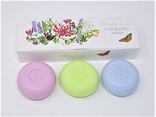 Athelhampton gift shop white rose aromatics butterfly garden soap collection lily of the valley lavender honeysuckle