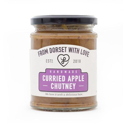 Athelhampton gift shop from dorset with love jar curried apple chutney