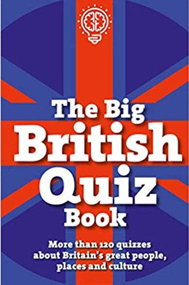 Athelhampton gift shop dorset books hardback the big British quiz book