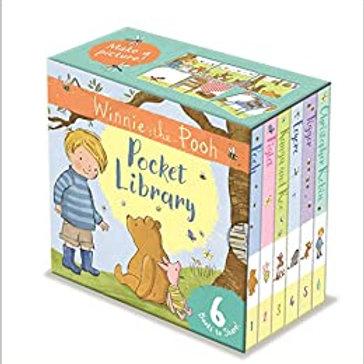 Athelhampton gift shop dorset books hardback Winnie the Pooh pocket library