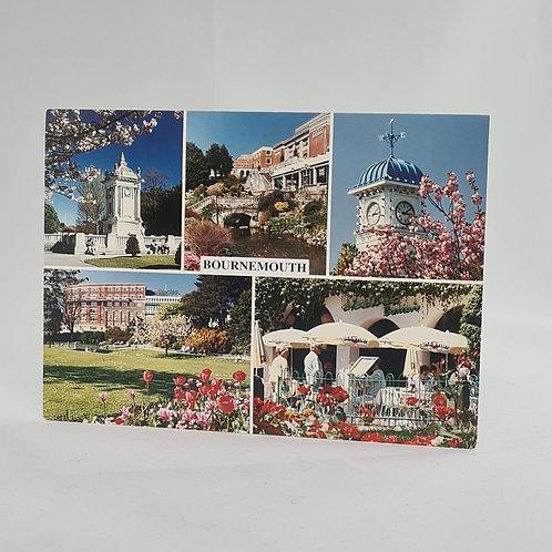 Athelhampton gift shop dorset postcard vintage bournemouth 1987-1990