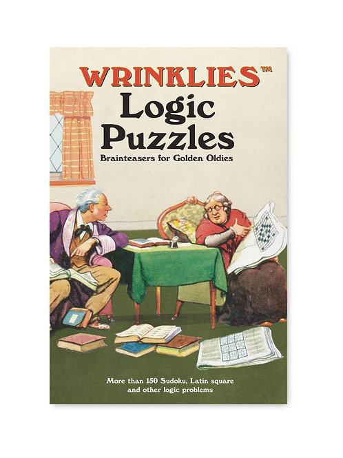 Athelhampton gift shop dorset books hardback wrinklies logic puzzles