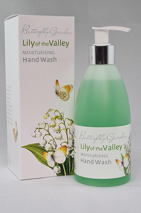 Athelhampton gift shop white rose aromatics butterfly garden lily of the valley moisturising hand wash