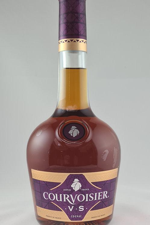 Athelhampton gift shop wine cellar glass bottle Courvoisier V.S.cognac brandy 70cl