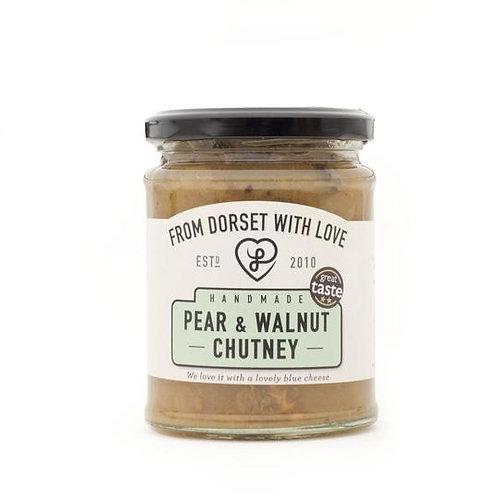 Athelhampton gift shop from dorset with love jar pear walnut chutney