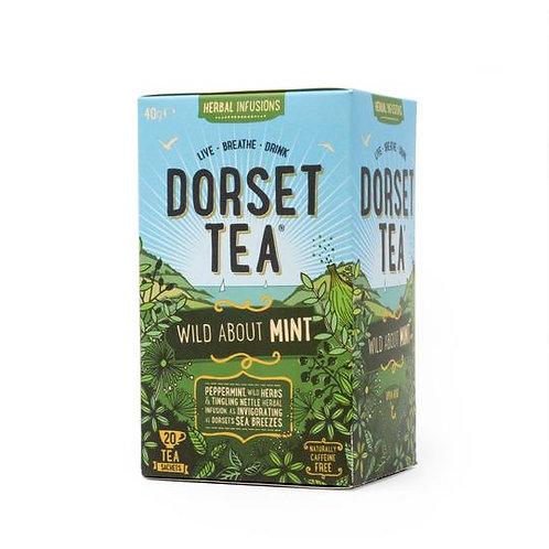 Athelhampton gift shop dorset tea wild about mint 20s