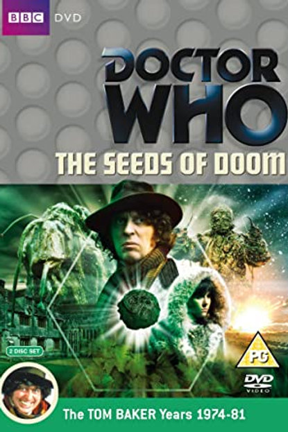 Athelhampton gift shop DVD Doctor who the seeds of doom tom baker 1974-81