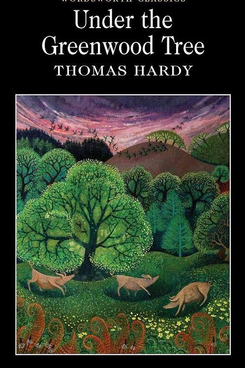Athelhampton gift shop Thomas hardy book paperback under the Greenwood tree