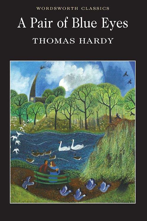 Athelhampton gift shop Thomas hardy book paperback a pair of blue eyes