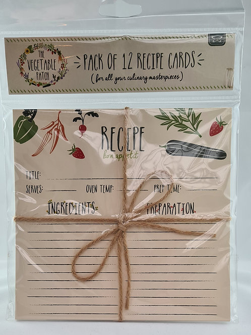 Athelhampton gift shop decorative recipe cards gardening themed