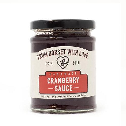 Athelhampton gift shop from dorset with love jar cranberry sauce