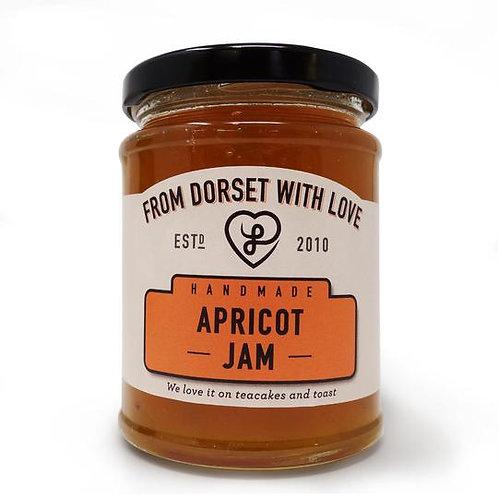 Athelhampton gift shop from dorset with love jar apricot jam