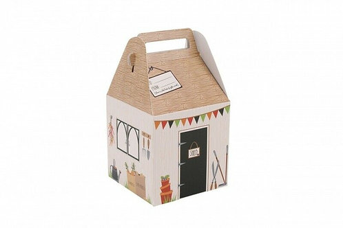 Athelhampton gift shop vegetable patch themed small gift box for  gardeners
