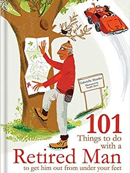 Athelhampton gift shop dorset books hardback 101 things to do with a retired man