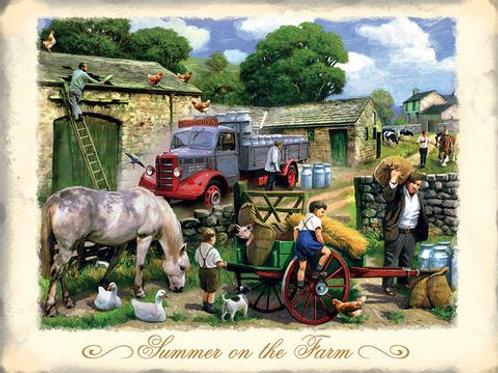 Athelhampton gift shop dorset fridge magnets humour summer on the farm