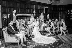 The Wedding Party at Athelhampton House