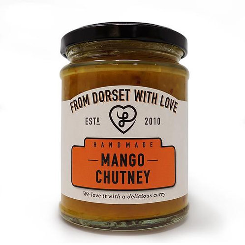 Athelhampton gift shop from dorset with love jar mango chutney