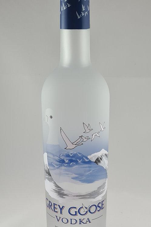 Athelhampton gift shop wine cellar glass bottle grey goose vodka 70cl