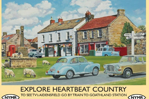 Athelhampton gift shop dorset fridge magnets humour explore heartbeat country