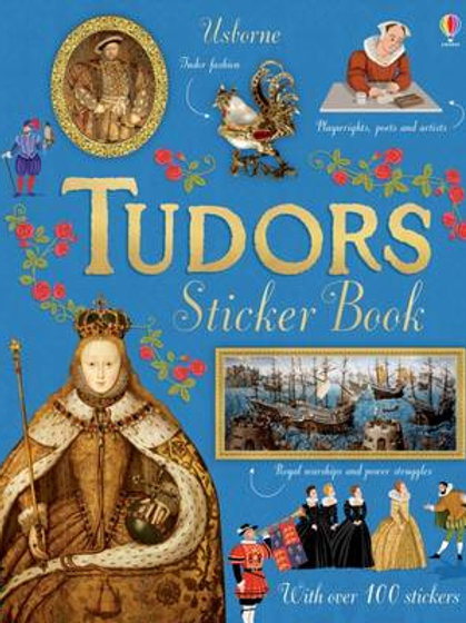 Athelhampton gift shop dorset world tudors sticker book children